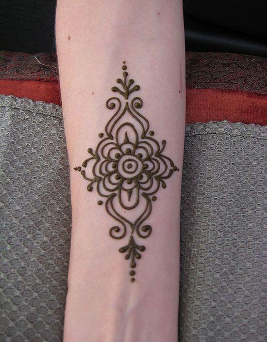 Flower Design Henna Tattoo Designs Hand Henna Wrist Henna