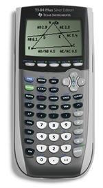 Texas Instruments TI-84 Plus Silver Viewscreen Calculator