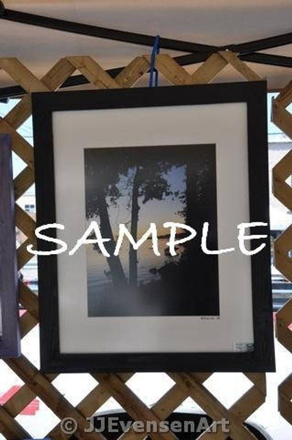 11x14 Picture Frame With Acrylic Glass Backing And Mounting