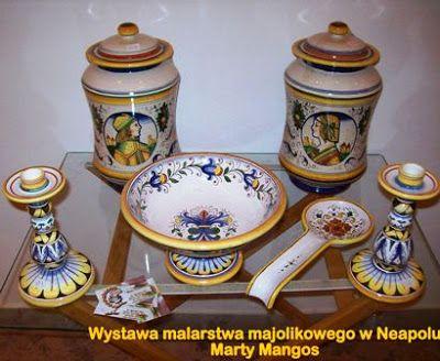 ceramica #dipintaamano #italy #Deruta http://ceramicamia.blogspot.it ...