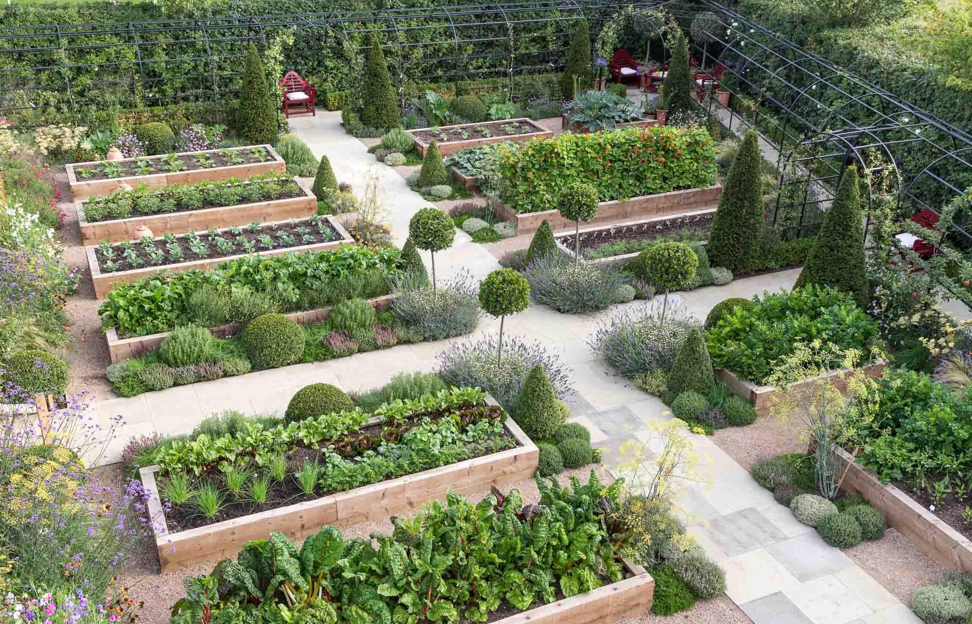 Kitchen Garden Garden Design Landscaping Project 400 x 300