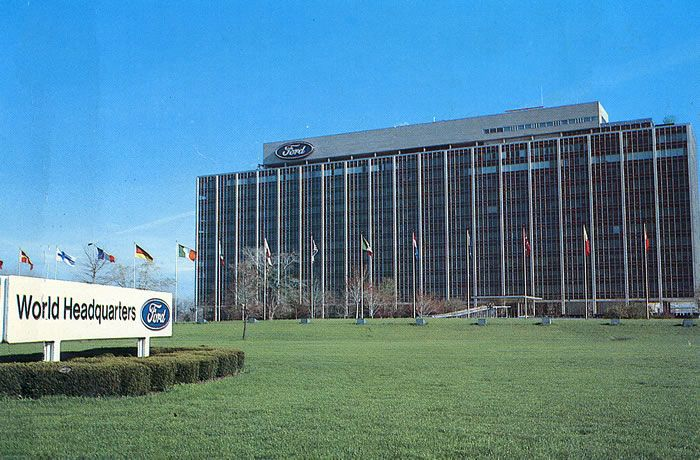 The Glass House Ford World Headquarters
