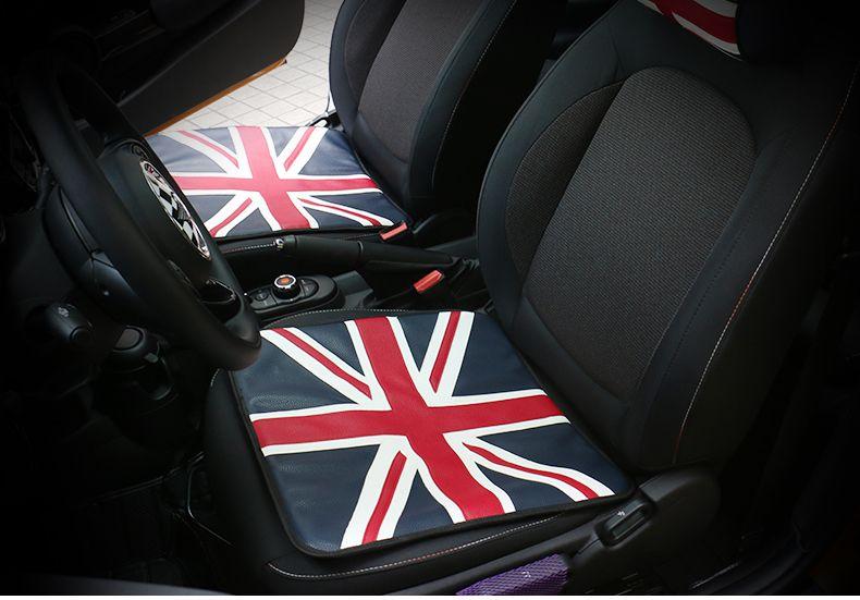 Mini Cooper Four Seasons Car Pu Leather Seat Cushion Mini Countryman Clubman R55 R56 R58 R59 R60 R61 F55 F56 Fit All C Leather Seat Mini Cooper Mini Countryman