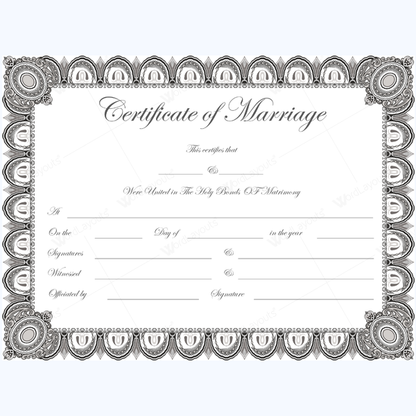 Marriage Certificate (1824)