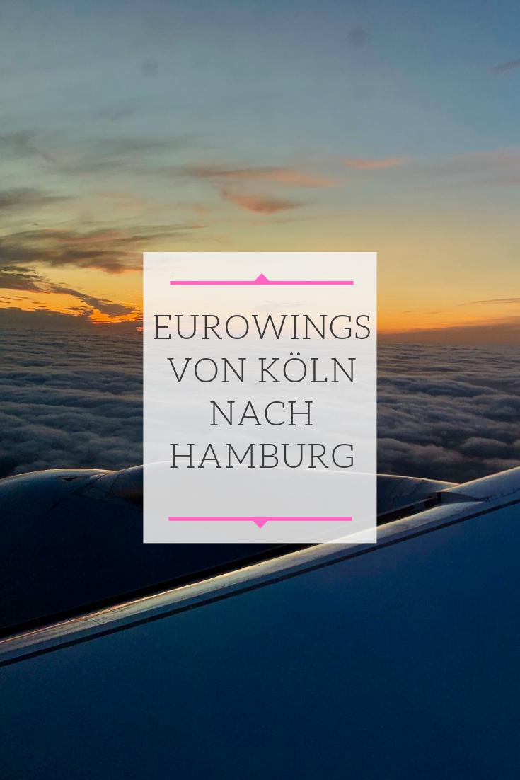 Eurowings von Köln nach Hamburg Hamburg reise, Hamburg