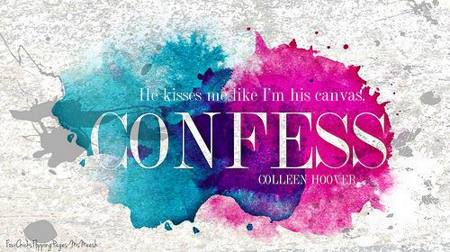 Resultado de imagem para confess colleen hoover