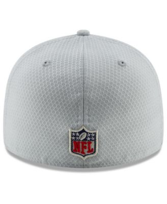 New Era Jacksonville Jaguars Crucial Catch Low Profile 59FIFTY Fitted Cap -  Gray 7 1 2 be26241c4