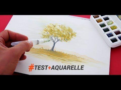 Outils Et Technique Pour Peindre A L Aquarelle Rapidement