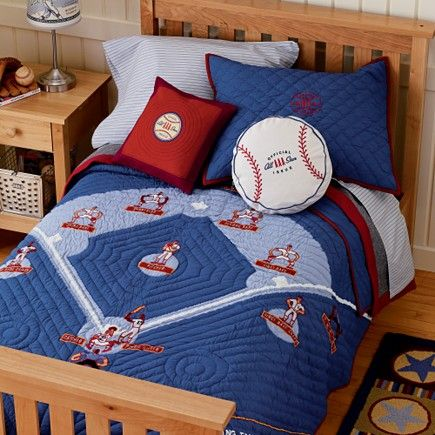 Wish Land Of Nod Still Carried It Baseball Bedding