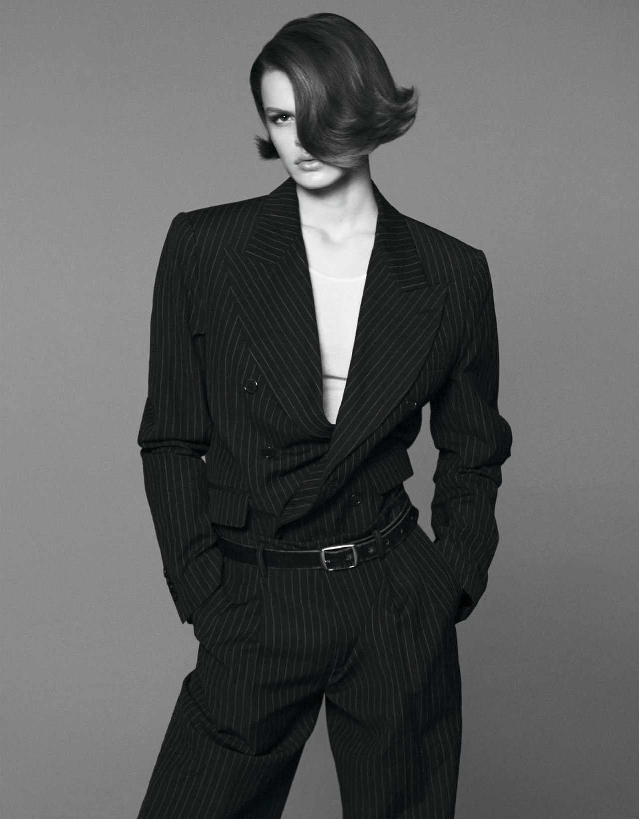 Photo by david sims for interview magazine march fashion