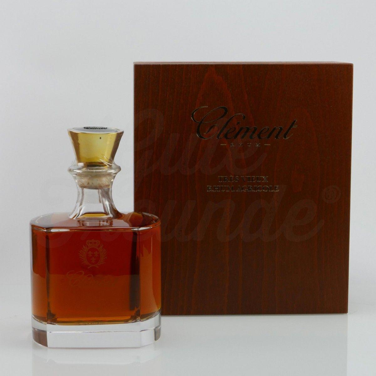 465 Euro #rum - Clément Très Vieux Rhum Agricole Cristal Decanter - Hochwertiger Rum 40% Vol für Geniesser von der karibischen Insel Martinique in streng limitierter Auflage.