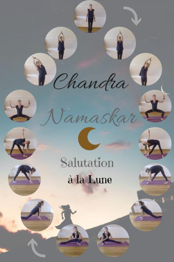 La Salutation à la Lune : Chandra Namaskar - Klerviyoga
