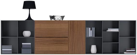 Lugano wall systems Boconcept Pinterest Système audio