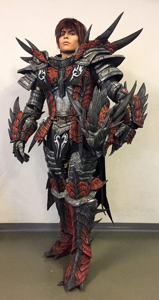 Monster Hunter Rathalos Armor Set With Images