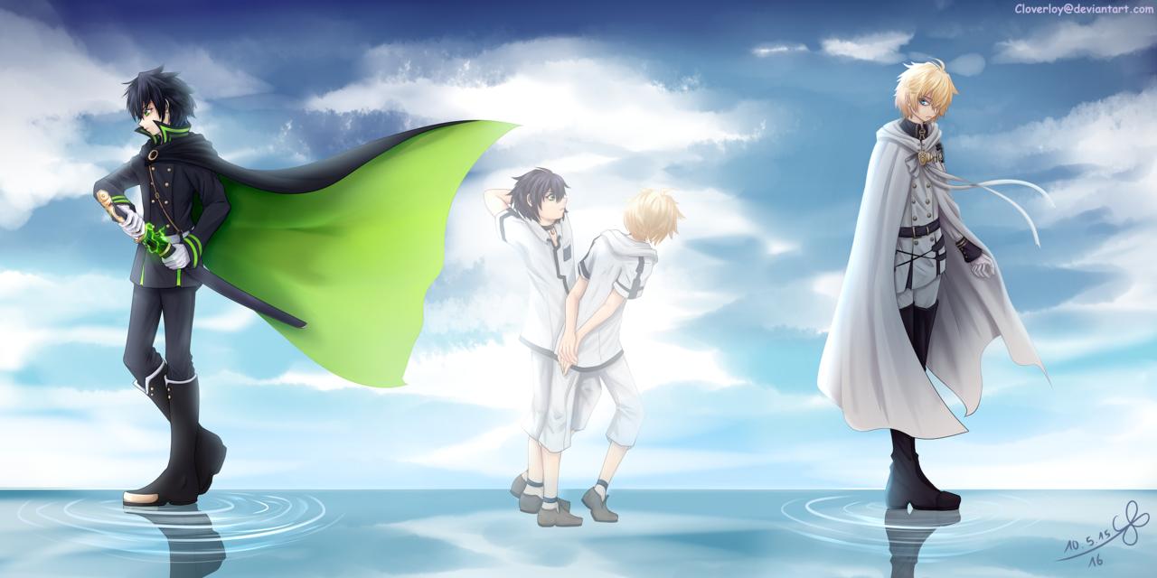 Hyakuya Yuichiro Mikaela Stories Anime Owari No Seraph 2