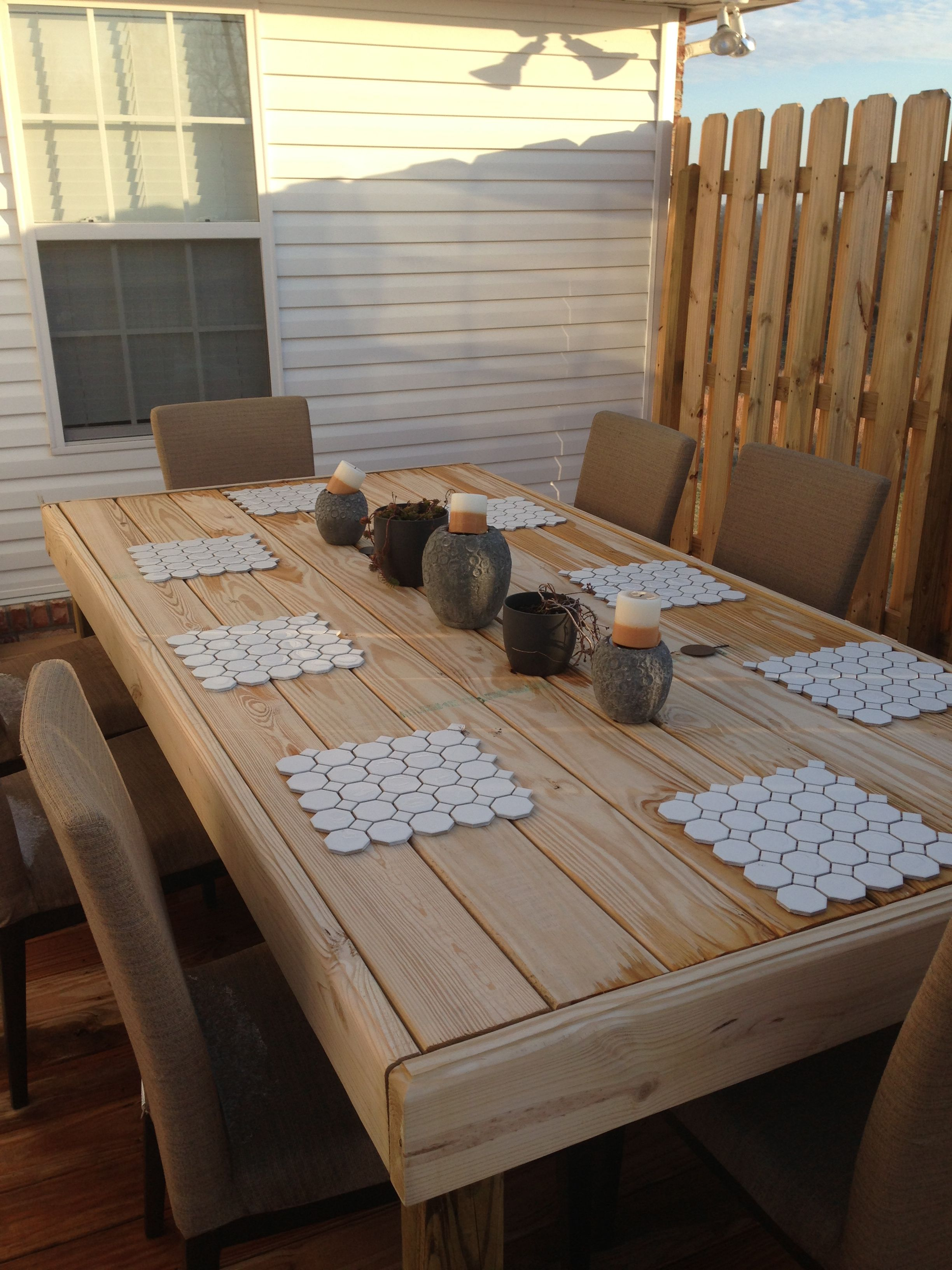 5 1 4 Decking Board Table How To Make Bed Pallet Table 400 x 300