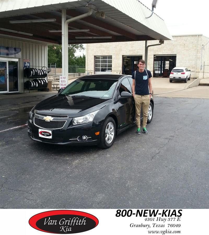 Congratulations To Hayden Neal On Your Chevrolet Cruze From