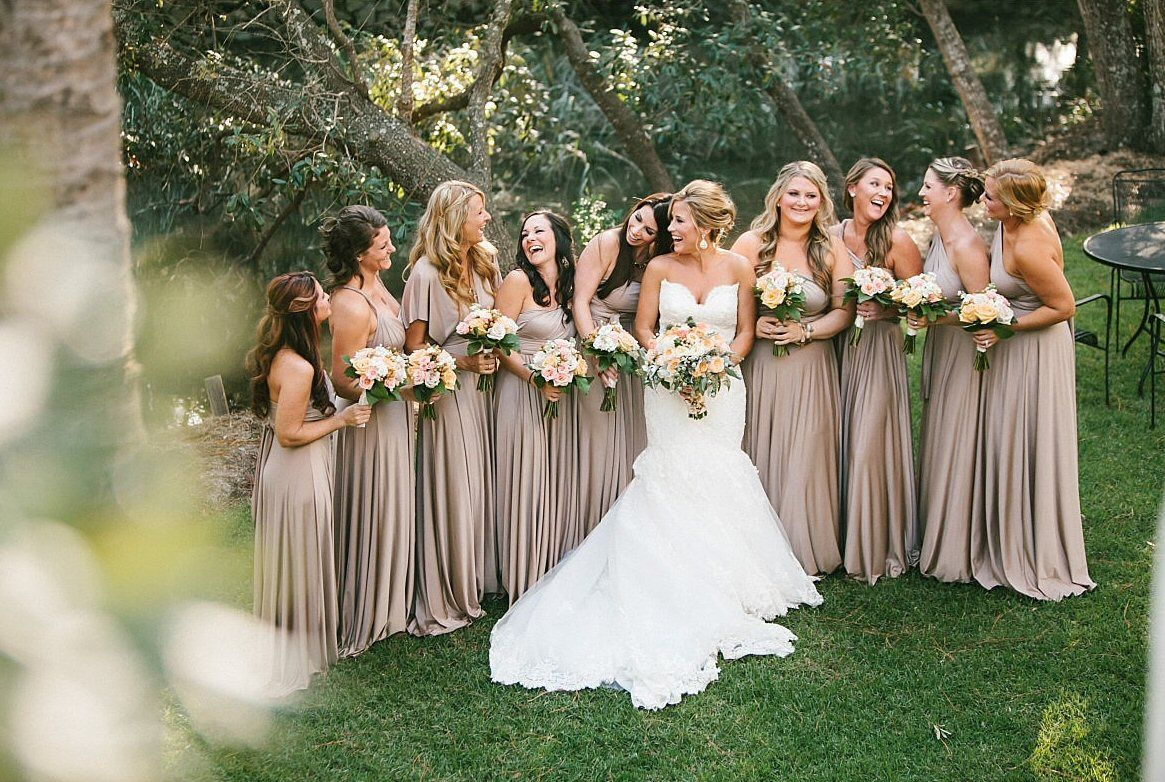 Beige Infinity Dress Champagne Bridesmaid Dress Prom Dress: 7 Infinity Dress Tips Every Bride Should Know