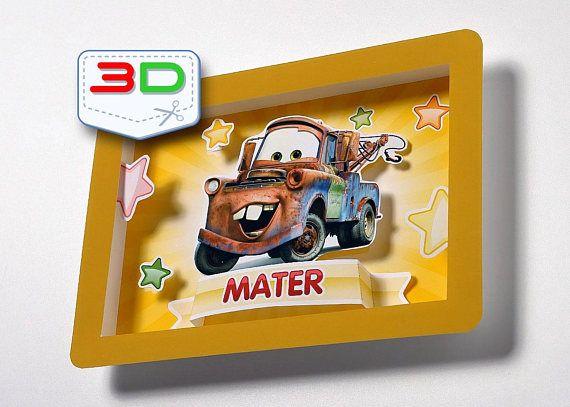 Disney Cars print poster Disney Cars printable Mater Cars nursery ...