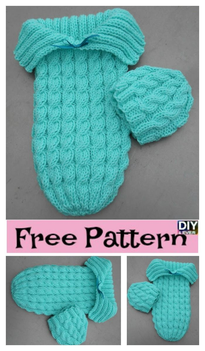 Adorable Knitted Baby Cocoons - Free Patterns | Baby cocoon, Free ...