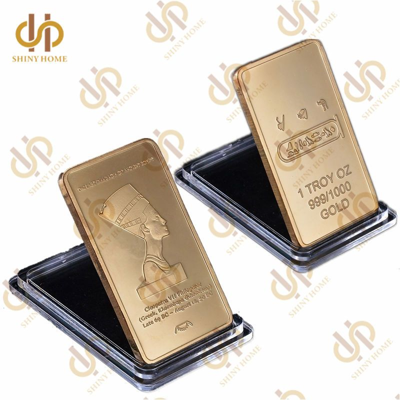 Pin By Shiny Home S Store On Gold Bar With Images Gold Bullion Gold Bullion Bars Egypt Queen