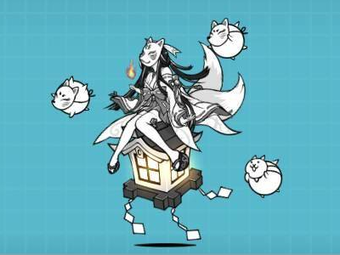 Trickster Himeyuri (Uber Rare Cat) | Battle Cats Wiki | FANDOM