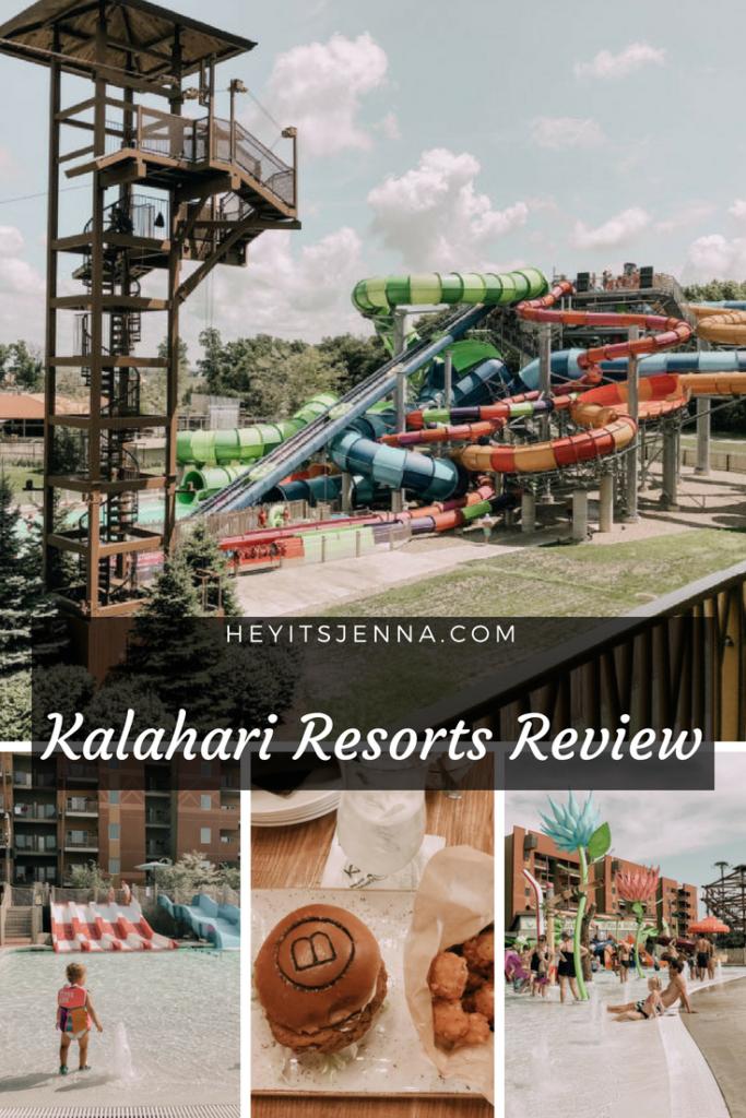 Stay at Kalahari Resorts Sandusky in Ohio with Water-Park
