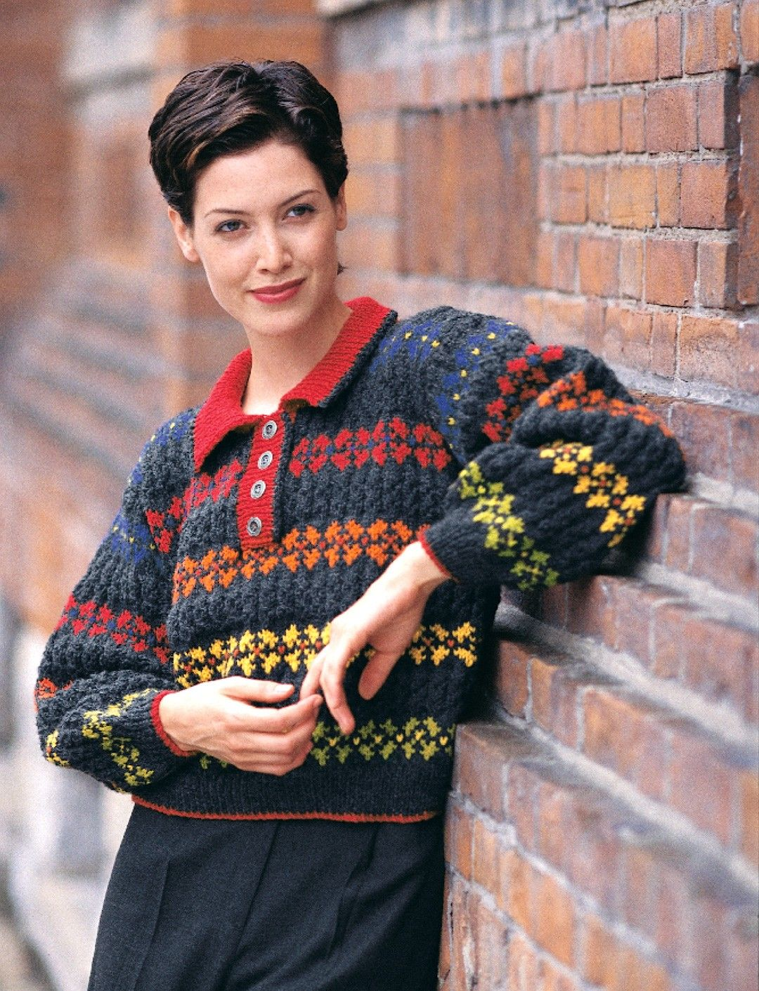 Yarnspirations patons colorful polo neck patterns find this pin and more on knit sweaters jackets vests colorful polo neck pattern by patons bankloansurffo Gallery