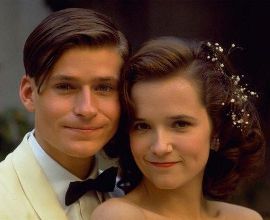 Crispin Glover As George Mcfly And Lea Thompson As Lorraine Baines