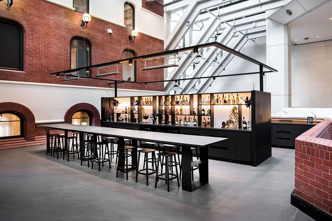Can Hospitality Design In Workplace Environments Help Build Culture Architecture Design Hospitality Design Urban Design Architecture Architecture Design