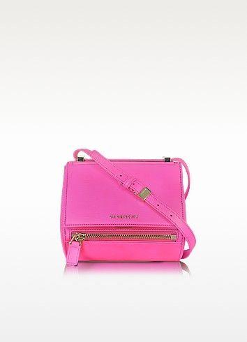 502aeb5281 Givenchy Pandora Shocking Pink Leather Mini Box Bag | Women´s Bags ...