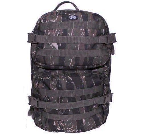 MFH US Rucksack, Assault II, tiger stripe / mehr Infos auf: www.Guntia-Militaria-Shop.de