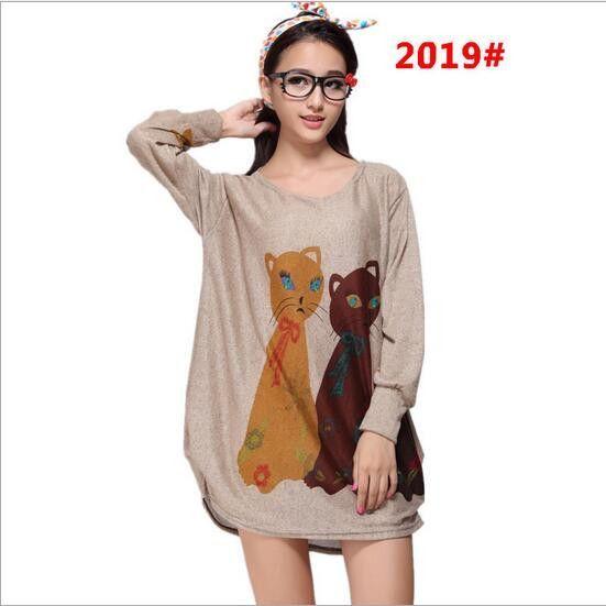 Hot Sale New 2017 Women Dress Printing Short Dress Large size Casual Printing Shirt Dress Fashion Women Short Slim Dress AB486