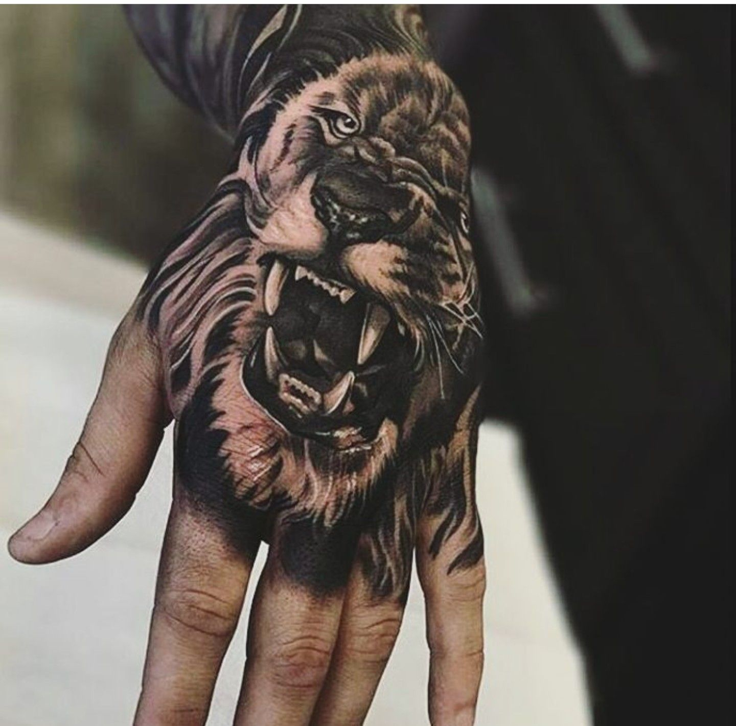 Pin By Rafael Lepritie On Tattoos Lion Hand Tattoo Men Lion Hand Tattoo Hand Tattoos For Guys