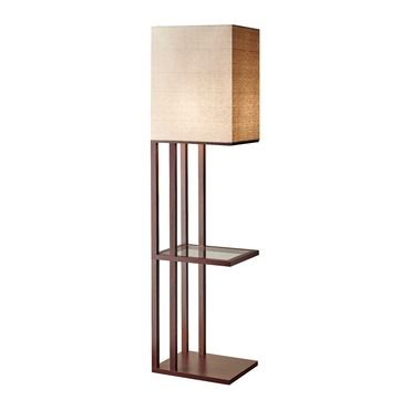 Baxter Shelf Floor Lamp Adesso Corp At Lightology Keeping Room