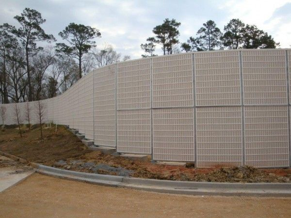 Sound Barrier Wall Construction Sound Barrier Wall Noise