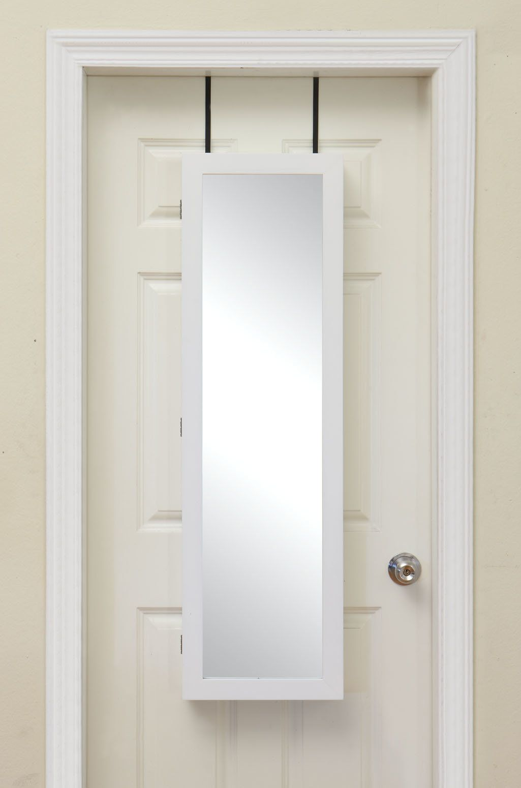 Campbell Over The Door Jewelry Armoire With Mirror Products