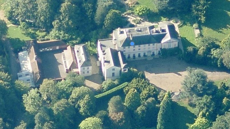 Queen Noor Of Jordan And Her Home In Windsor Buckhurst Park England