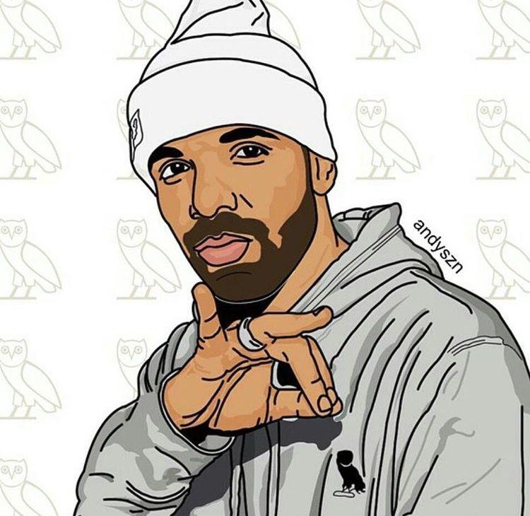 Drake lol Drake art