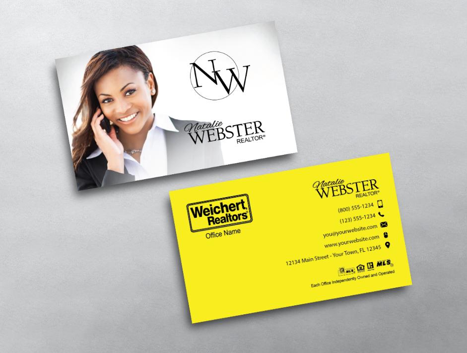WCH213   Cute Realtor Business Card Inspiration   Pinterest ...