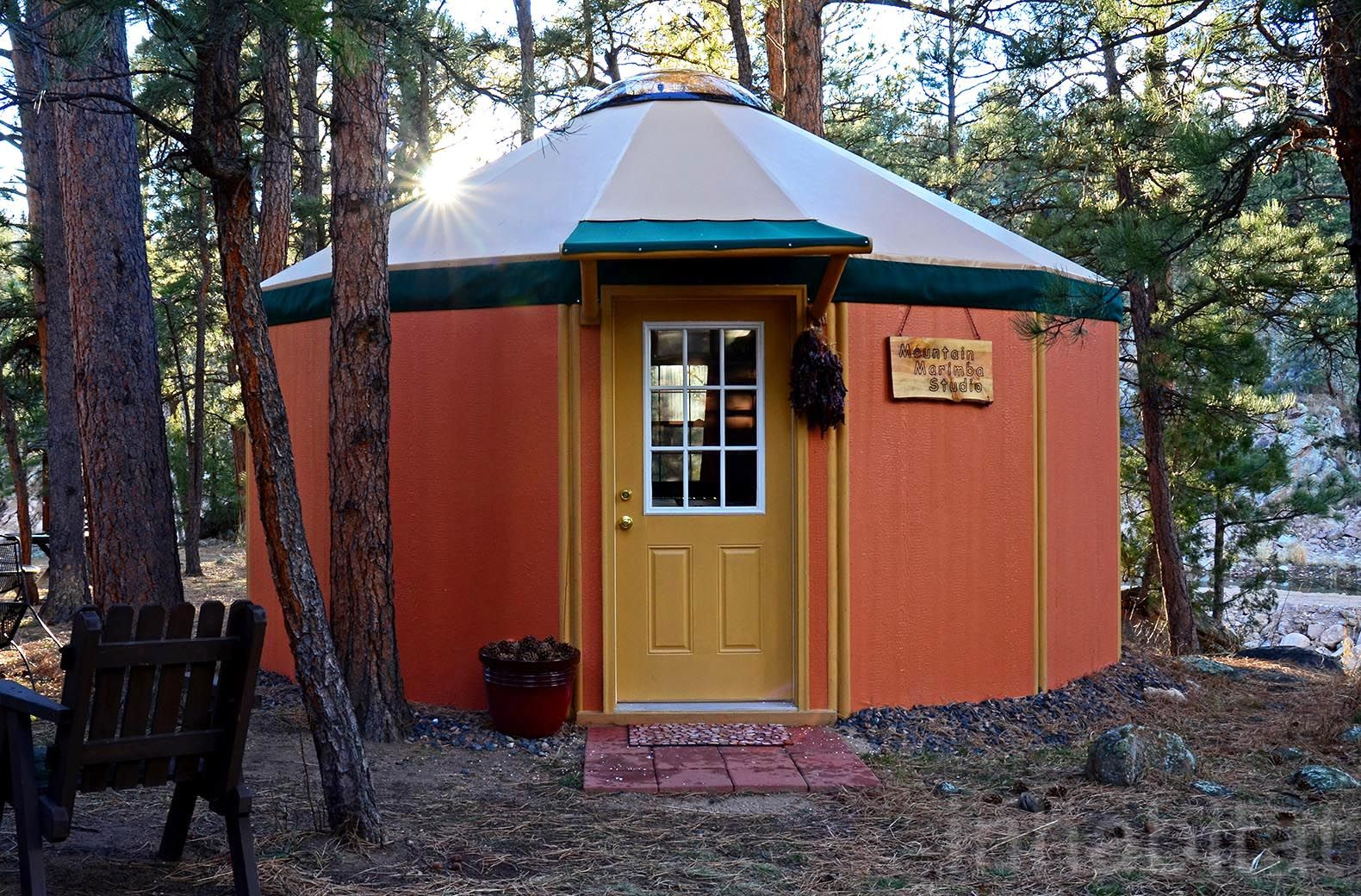 Freedom Yurt Cabins A Tiny Home For People Who Love Round Houses Round House Tiny House Nation Tiny House Village