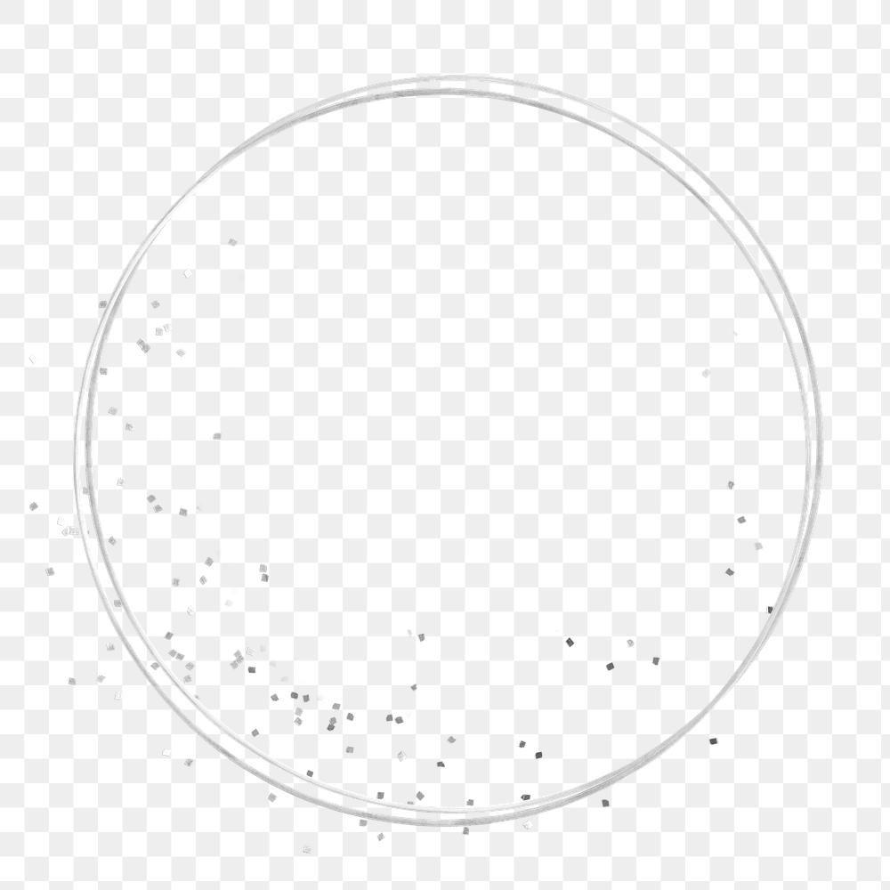 Silver Glittery Round Frame Design Element Free Image By Rawpixel Com Marinemynt Frame Design Design Element Free Illustrations