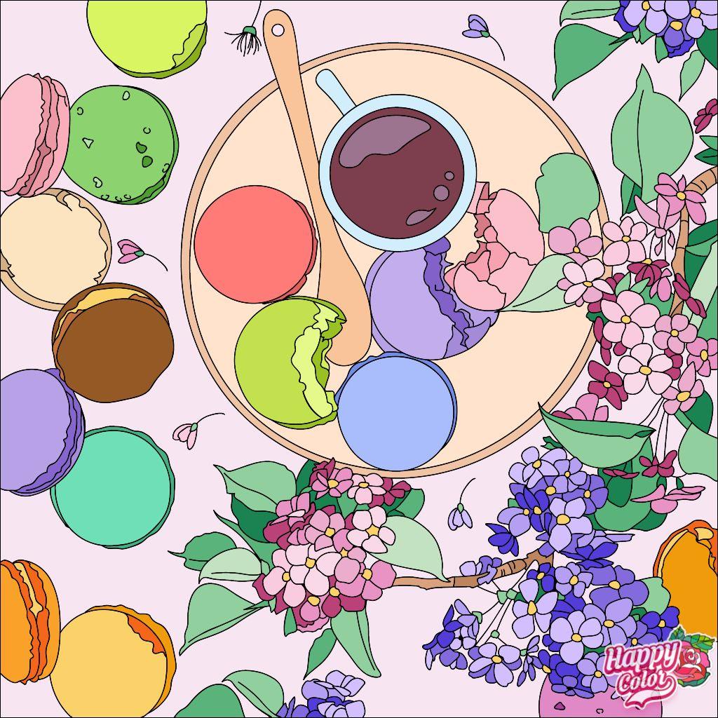 Happycoloringbook Colorful Colors Coloringbook Via Happy Color App For Ipad Happycolorapp Coloring Books Happy Colors Coloring Apps
