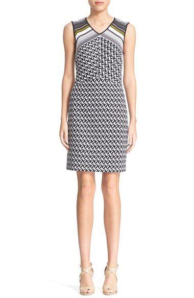 MissoniZigzag & Chevron KnitSheath Dress $776.98  #BestPrice #womensfashion #TopDesinger