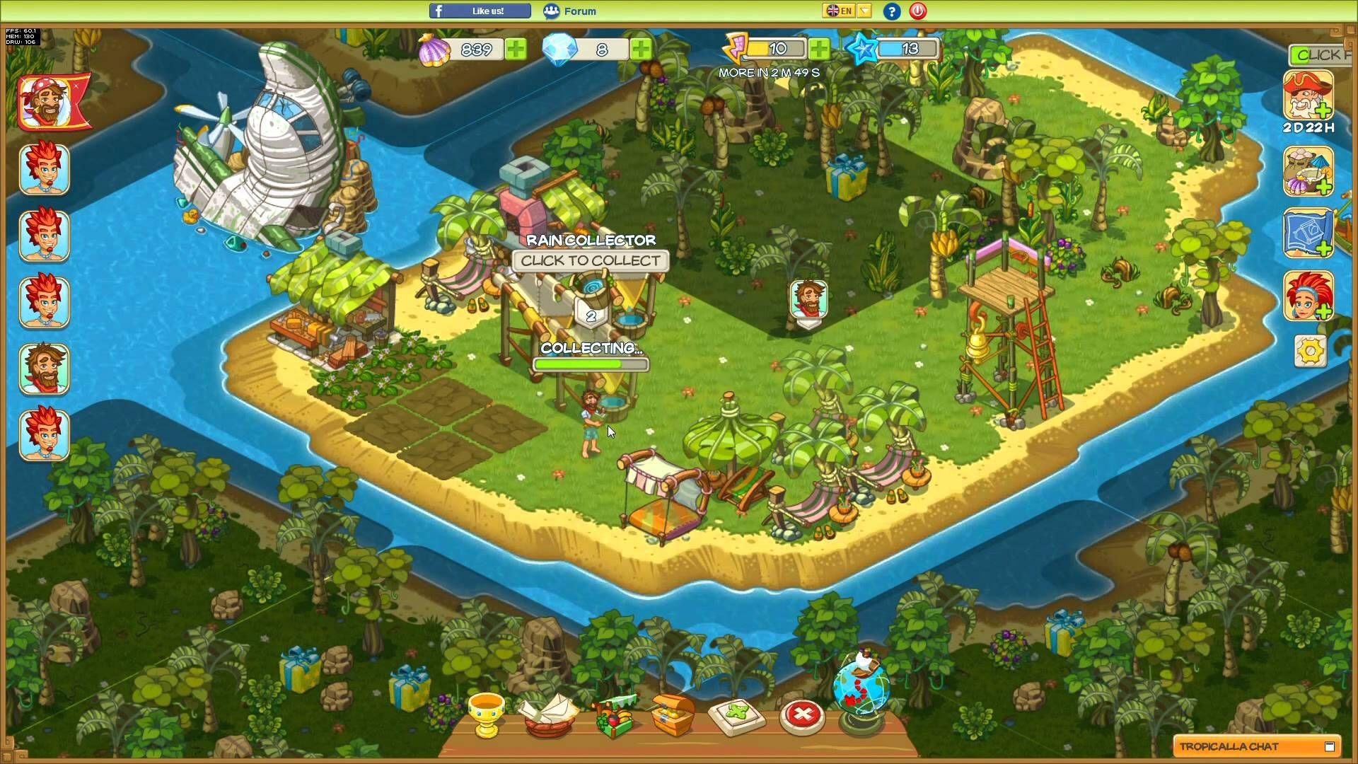 Tropicalla Raw Gameplay 4 Online Multiplayer Games Mmo Games Multiplayer Games