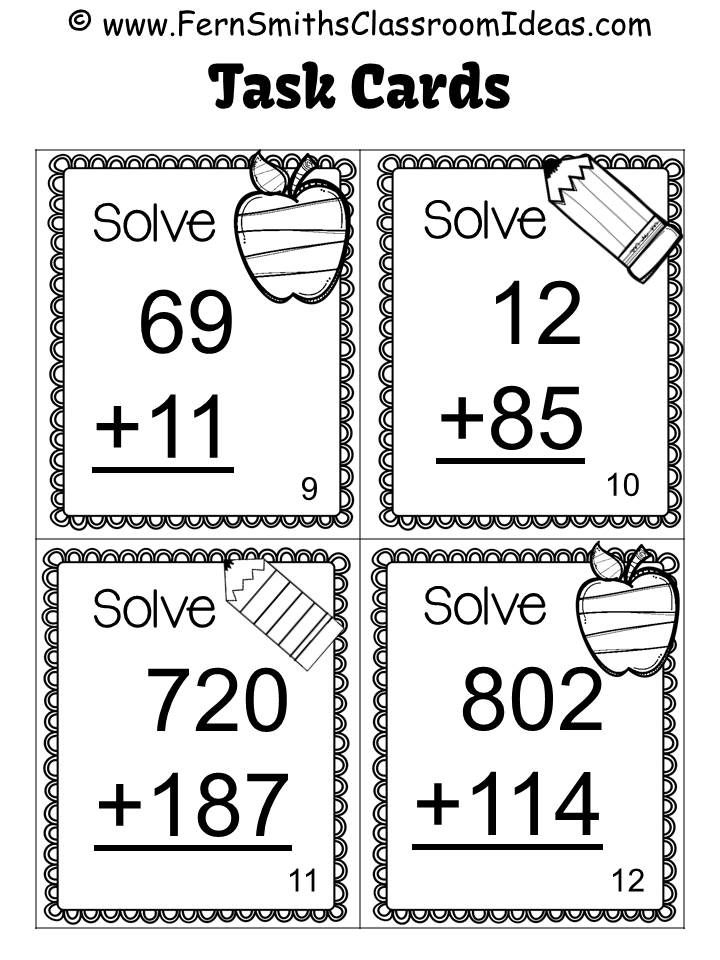 3rd Grade Go Math 1.7 Use Place Value to Add Multi-Digit