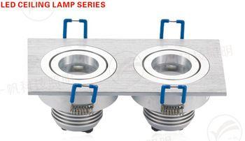 Free Shipping Fashion 3/5/7/9/10/12W led ceiling light cool white/warm white COLORFUL AC85-265V panel light