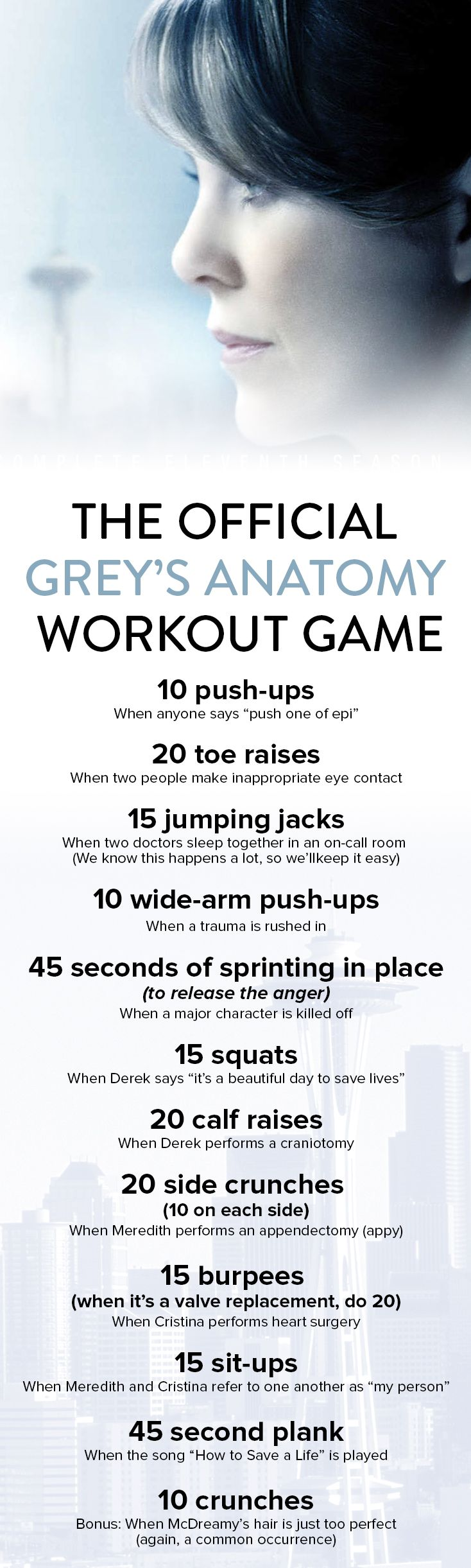 Fitness With Finesse: The Official Grey\'s Anatomy Workout Game ...