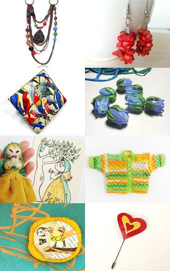 Summer Brights... by amy berryman on Etsy--Pinned with TreasuryPin.com