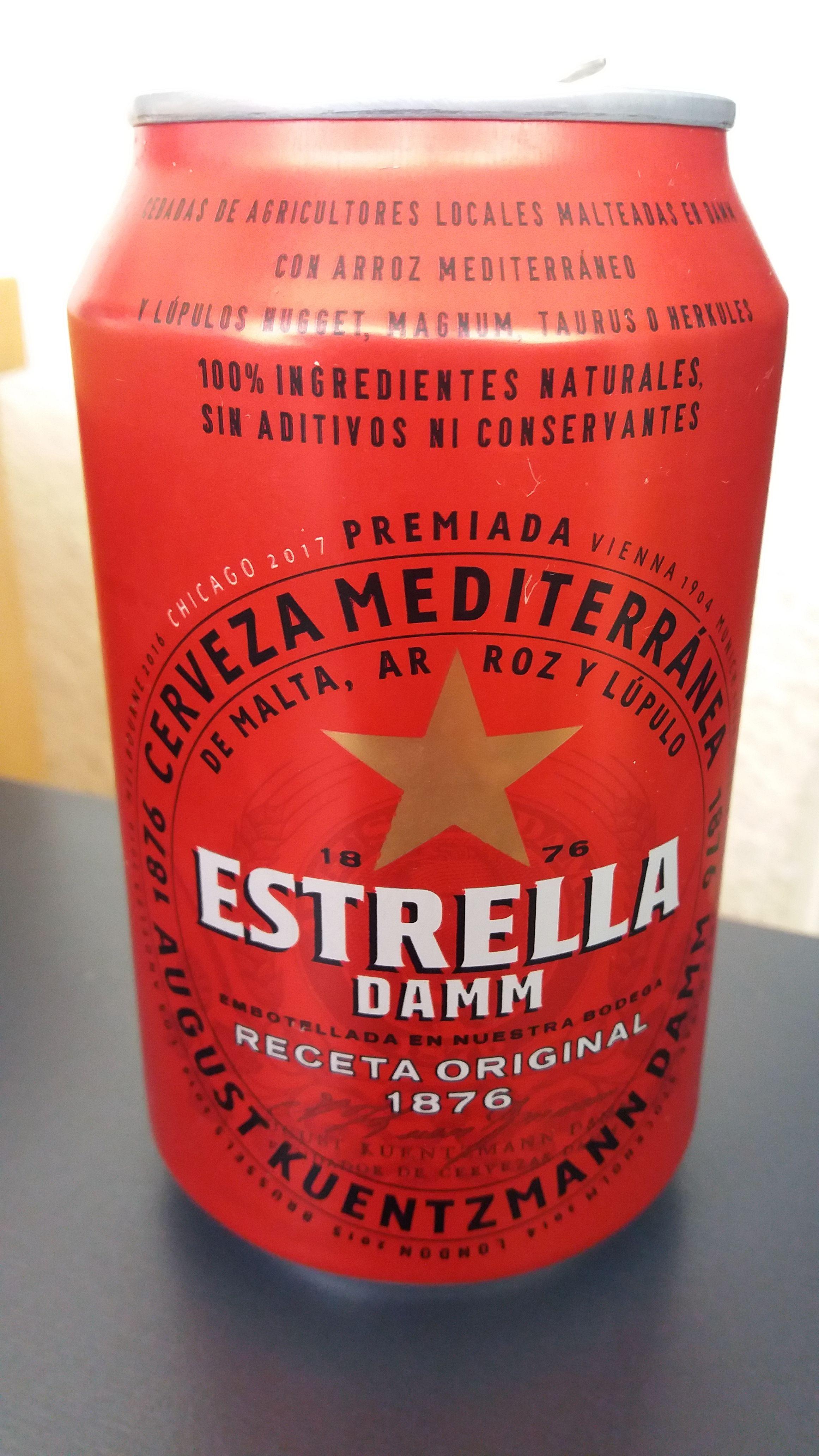 Estrella Damm Espana Cerveja Sagrada
